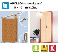Apollo harm�nika ajt� 16-40 mm-ig