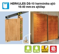 Herkules DS 16-40 mm-ig harm�nika ajt�